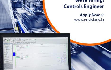 We're Hiring – Controls Engineer