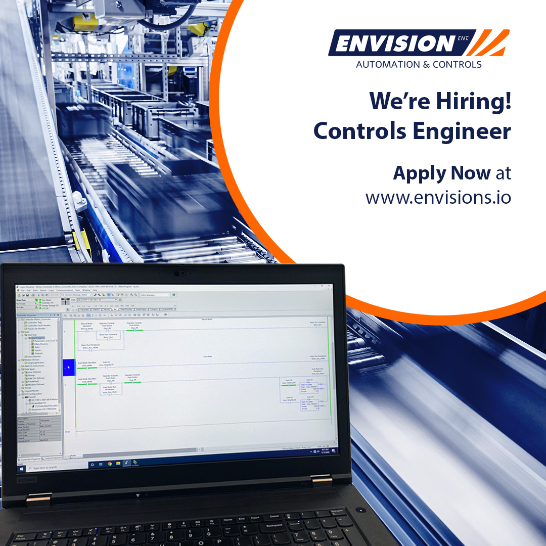 Careers - Controls Engineer - Envision Automation & Controls - Evansville, IN