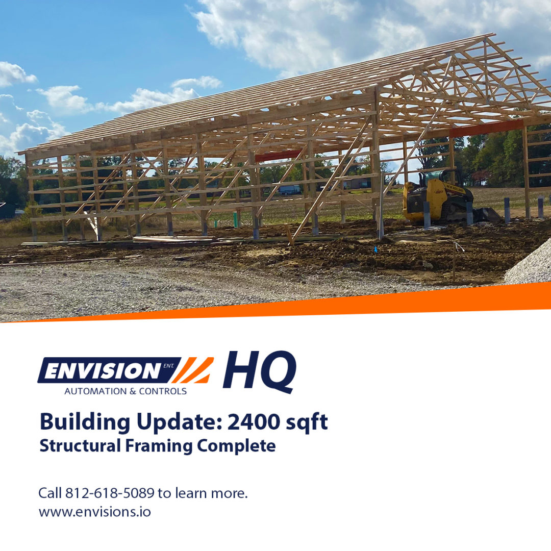 Building Update: Structural Framing Complete