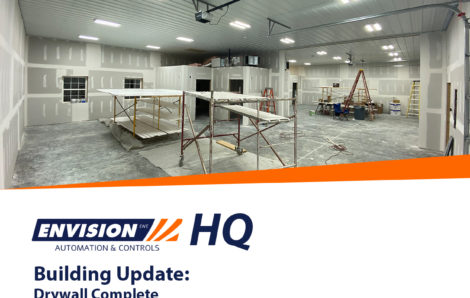 Building Update: Drywall Complete